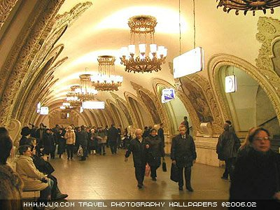 世界上最漂亮的地下铁——各国奇特地下铁艺术