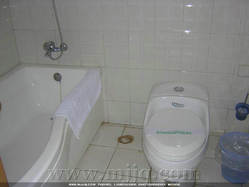 赛康大酒店房间卫生间