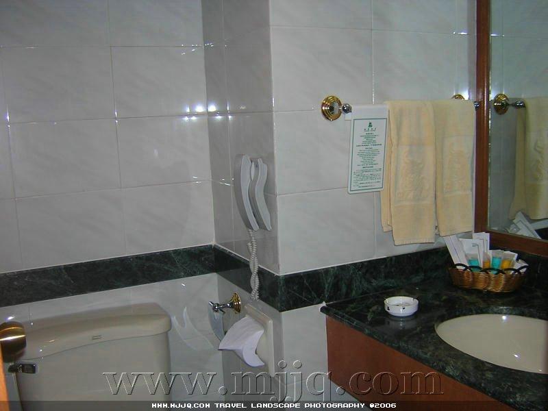拉萨饭店房间卫生间