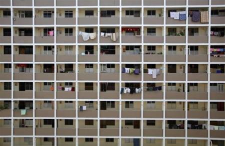 图片:世界最拥挤的国家- 新加坡