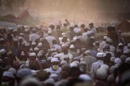 图片:世界最拥挤的国家-孟加拉国