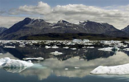 图片:世界最不拥挤的国家 - 格陵兰岛