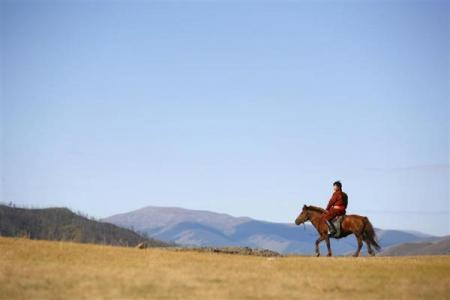 图片:世界最不拥挤的国家 - 蒙古