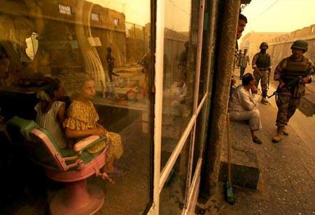 图文:伊拉克特色的国土安全