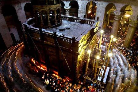 图文:耶路撒冷的复活节游行