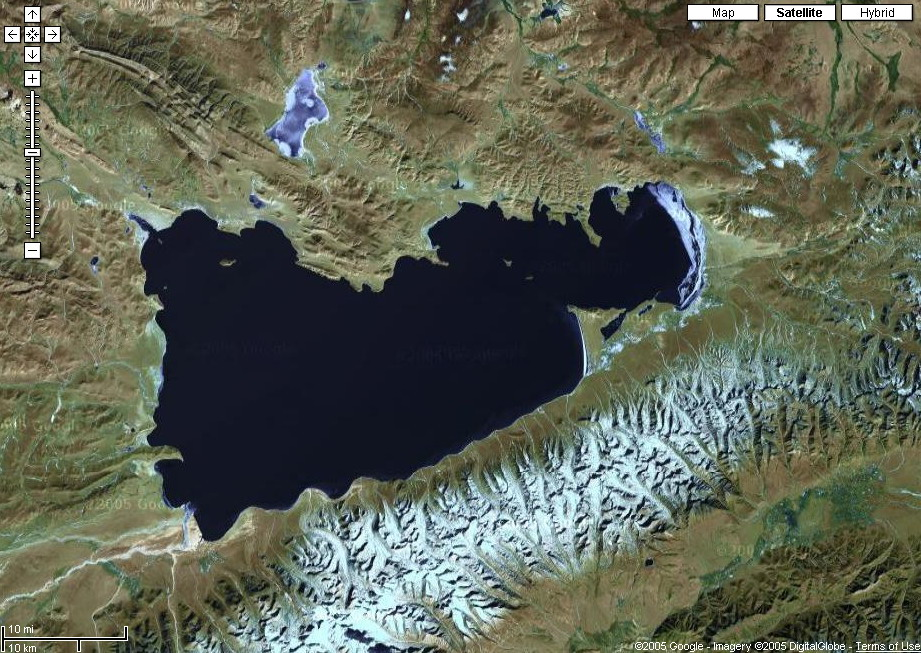 谷歌卫星高清中国地图
