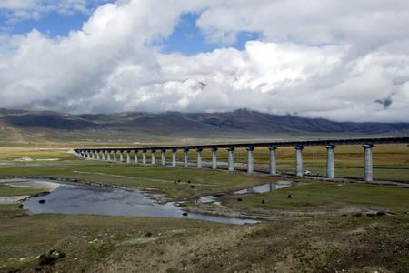 图文:当雄铁路大桥