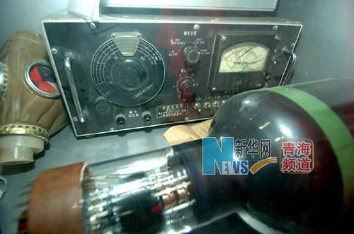 这是原子城的科研工作者当时使用的部分科研工具