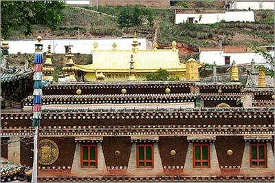 藏传佛教黄教圣地的塔尔寺