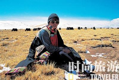 错那湖是青藏铁路沿途风光最美的站点。