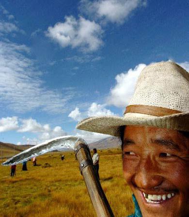藏北无人区的美丽风光