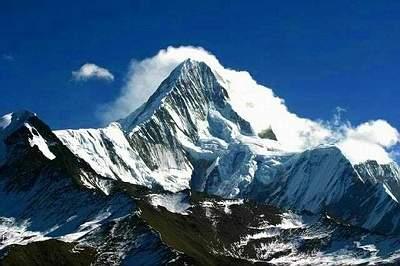 科技时代_探险圣地评选:贡嘎山—温泉与冰川的诱惑
