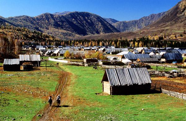 新疆旅游自拍-喀纳斯