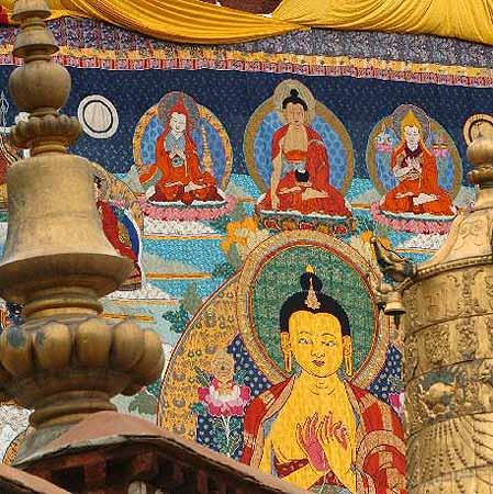 组图:拉萨雪顿节展示藏文化精粹