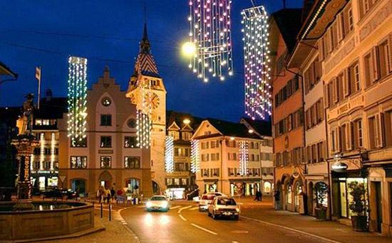 瑞士的美丽风光