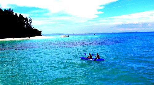 泰国皮皮岛美色 热带的诱惑