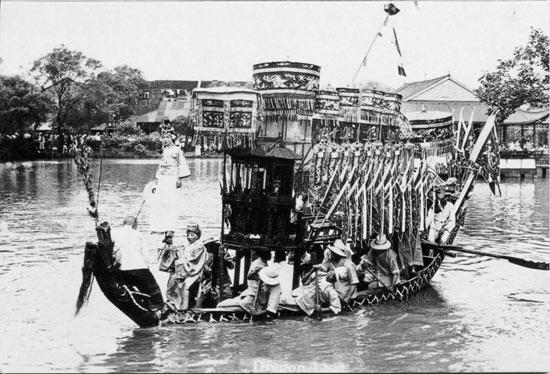 划龙船 汉布河