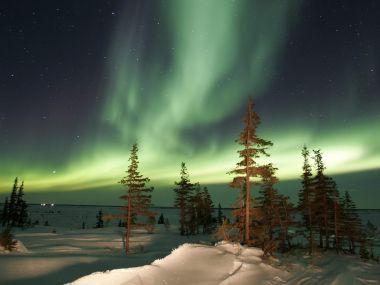 加拿大风光-北极光