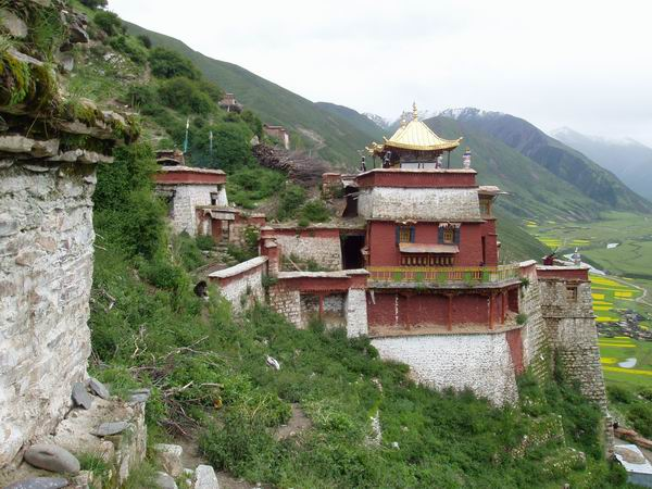 图片:拉萨-直贡梯寺