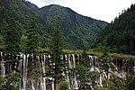 图片:九寨沟黄龙之旅 诺日朗瀑布风光