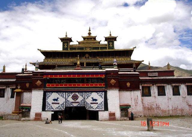图片:西藏山南-桑耶寺