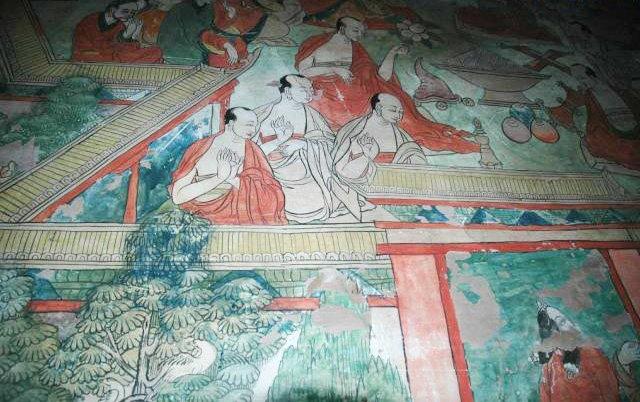 图片:西藏山南-桑耶寺壁画