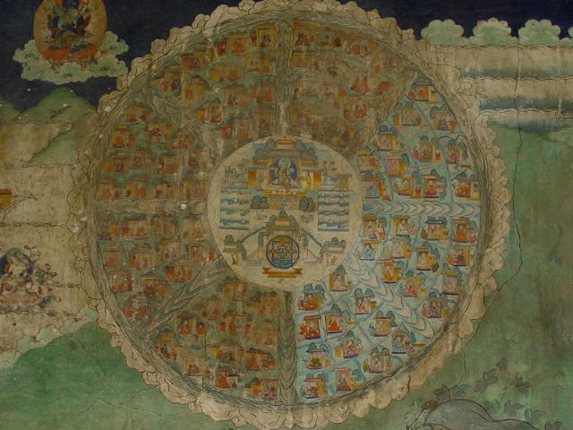 桑耶寺壁画