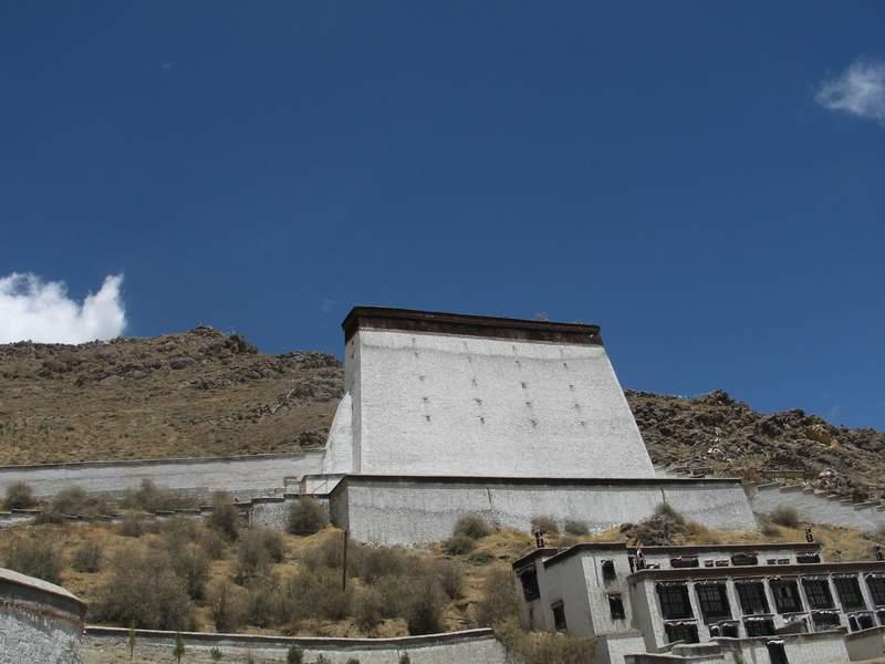 日喀则扎什伦布寺-展佛台