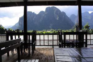 湄公河的支流湄南河,风景如画