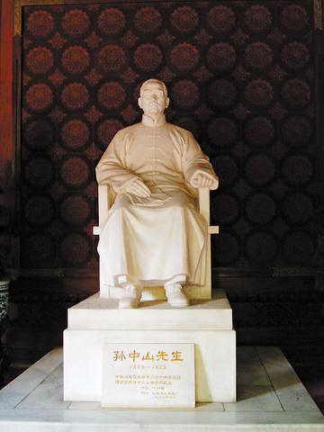 碧云寺中山堂