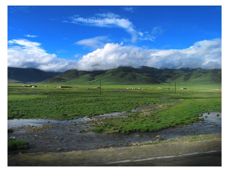 图片:青海格尔木-青藏公路沿途风光