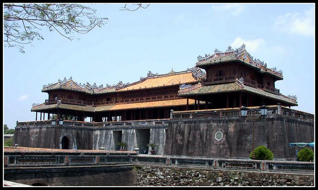 越南风光:古都顺化-Vietnam Hue (顺化古城门)
