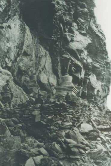 图片:约瑟夫.洛克镜头下的稻城