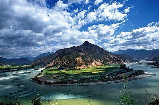 云南香格里拉-长江第一湾