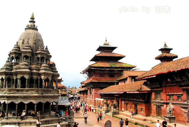 风光图片:尼泊尔-帕坦古城