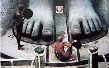 耆那教巨型石雕像
