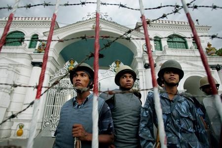 2006getty年度最佳:尼泊尔首都发生骚乱