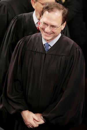 图文:阿利托就任美联邦大法官