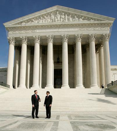 图文:阿利托就任美国联邦大法官