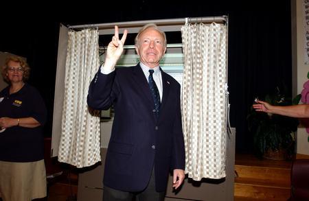 图文:内德赢得民主党参议员选举胜利后致意
