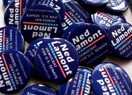 图文:民主党参议员选举内德赢得胜利