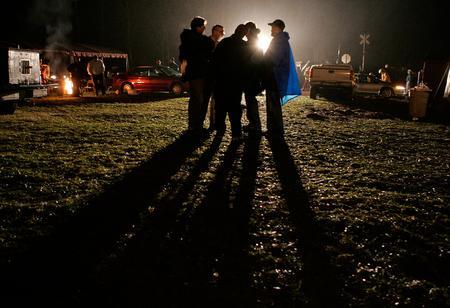 图文:美国西弗吉尼亚州阿普舒尔县萨戈煤矿发生爆炸事故