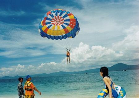 图片:三亚蜈支洲岛风光