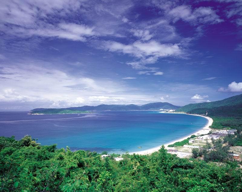 图片:三亚亚龙湾全景