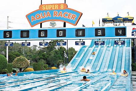 澳大利亚黄金海岸 Wet'n'Wild 水上乐园