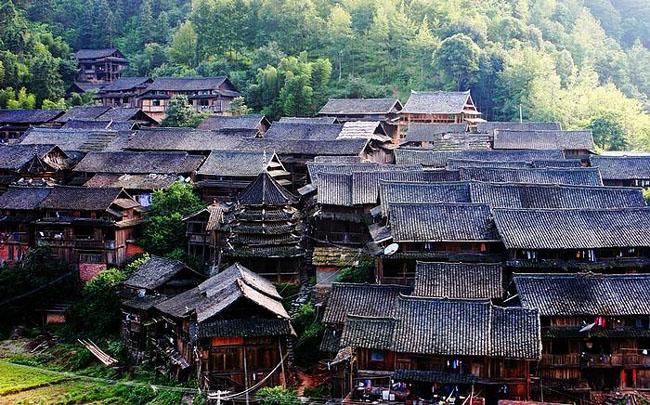到肇兴 住最美的侗寨   肇兴离从江不远,这里有中国最美的...