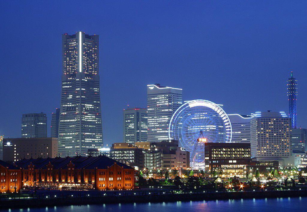 日本横滨风景图片