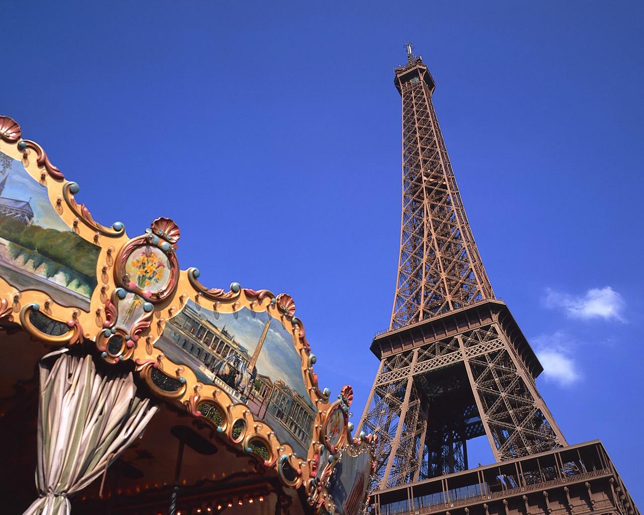 欧洲:法国巴黎风光图片