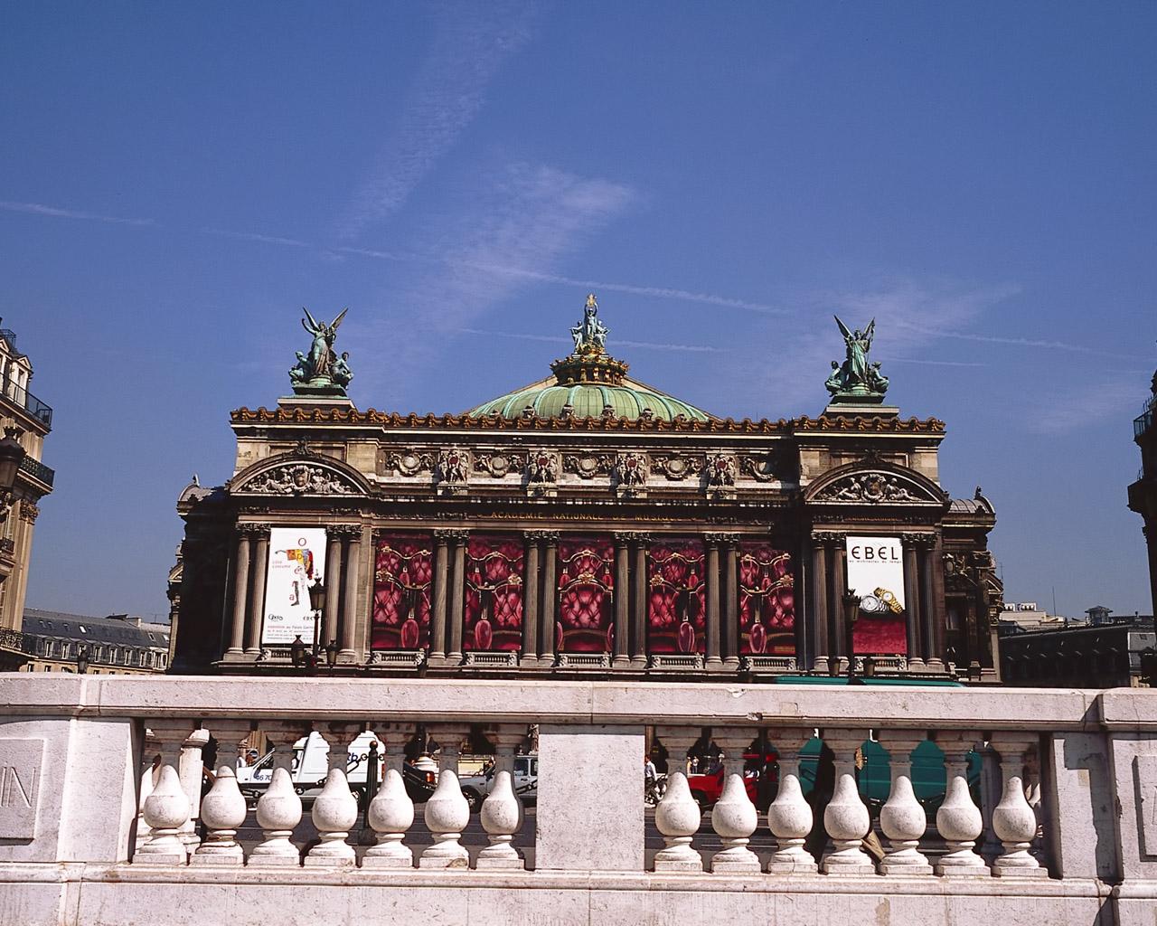 法国巴黎风光图片