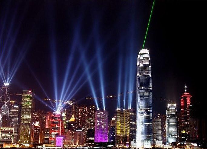 香港夜景照片
